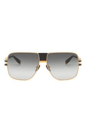 Мужские солнцезащитные очки BALMAIN черного цвета, арт. BPS-103A | Фото 3