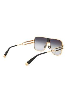 Мужские солнцезащитные очки BALMAIN черного цвета, арт. BPS-103A | Фото 4