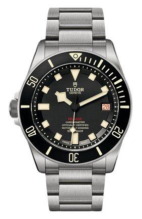 Мужские часы pelagos lhd TUDOR черного цвета, арт. 25610TNL/95820T/BLACK BIEGE INDEX | Фото 1