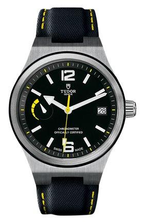 Мужские часы north flag TUDOR черного цвета, арт. 91210N/CALF/BLACK | Фото 1