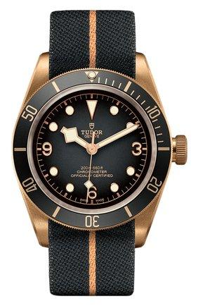 Мужские часы black bay bronze TUDOR темно-серого цвета, арт. 79250BA/FABRIC/SLATE GREY | Фото 1