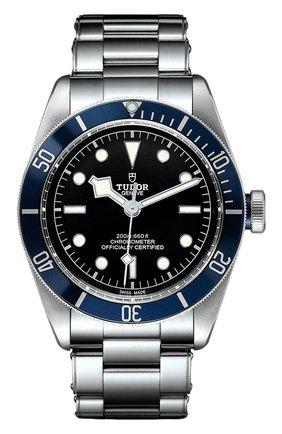 Мужские часы black bay TUDOR черного цвета, арт. 79230B/72060/BLUE | Фото 1