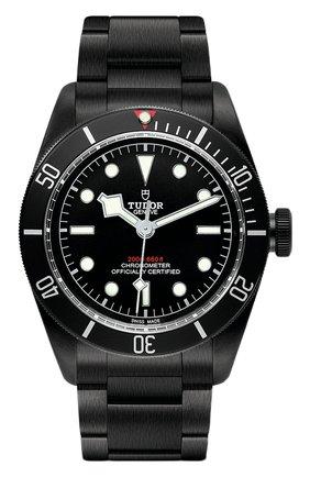 Мужские часы black bay dark TUDOR черного цвета, арт. 79230DK/95770DK/BLACK | Фото 1