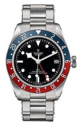 Мужские часы black bay gmt TUDOR черного цвета, арт. 79830RB/72060/BLACK | Фото 1