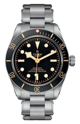 Мужские часы black bay fifty-eight TUDOR черного цвета, арт. 79030N/72040/BLACK | Фото 1