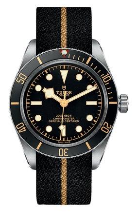 Мужские часы black bay fifty-eight TUDOR черного цвета, арт. 79030N/FABRIC/BLACK | Фото 1