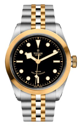 Мужские часы black bay 41 s&g TUDOR черного цвета, арт. 79543/65383/BLACK | Фото 1