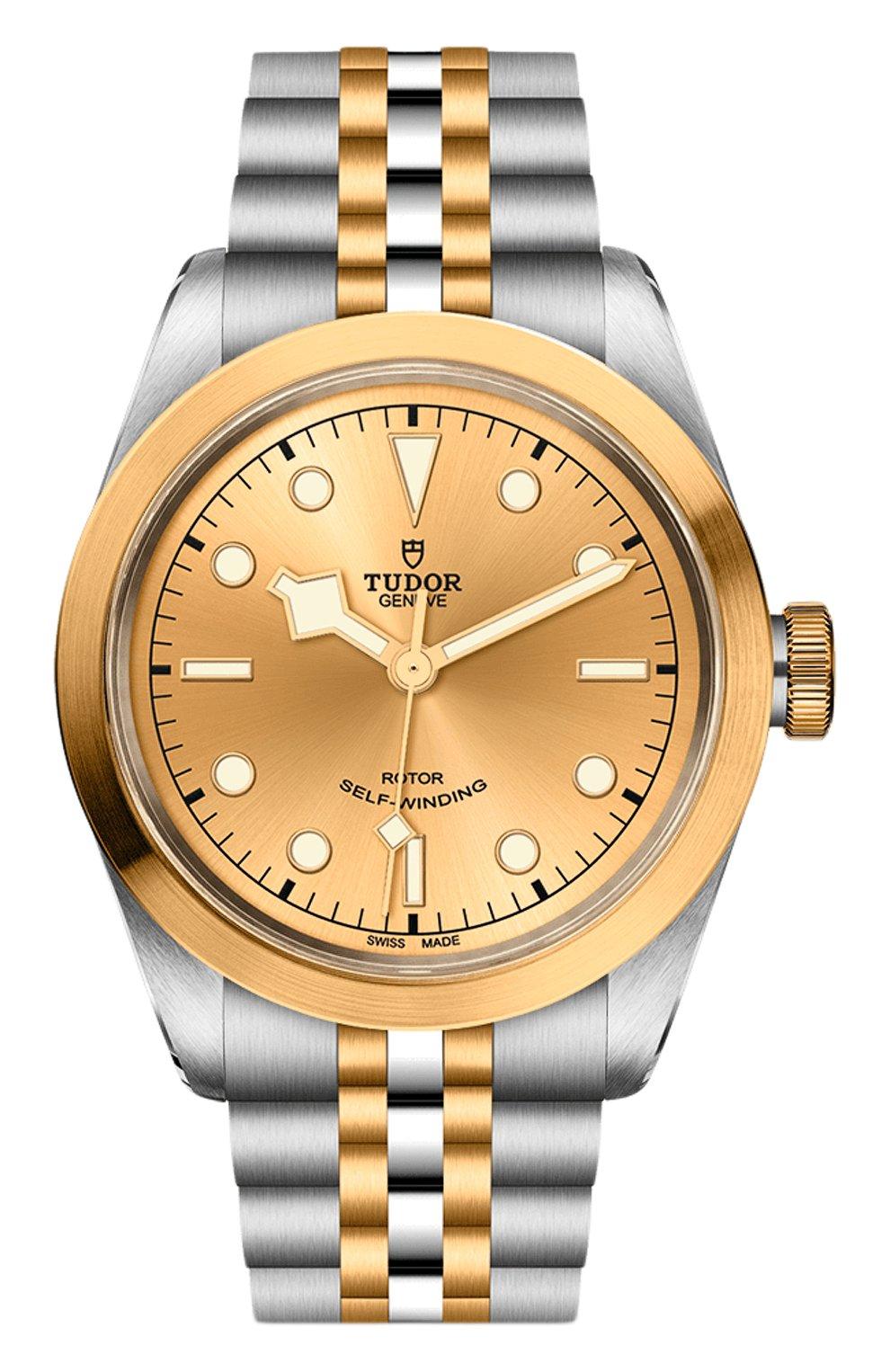 Мужские часы black bay 41 s&g TUDOR бежевого цвета, арт. 79543/65383/CHAMPAGNE | Фото 1