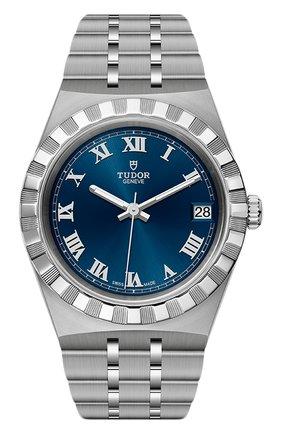 Женские часы tudor royal TUDOR синего цвета, арт. 28400/91040/BLUE ROM | Фото 1