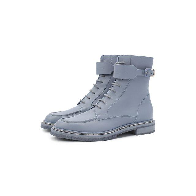 Кожаные ботинки Giorgio Armani