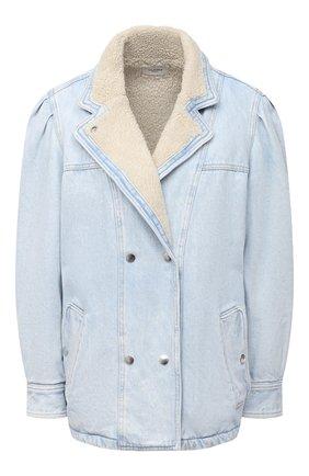 Женская джинсовая куртка ISABEL MARANT ETOILE голубого цвета, арт. VE1528-21P019E/LUCINDA | Фото 1