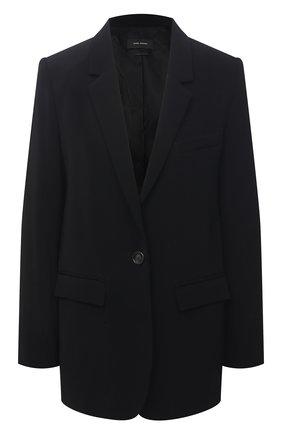 Женский жакет из вискозы ISABEL MARANT черного цвета, арт. VE1563-21P011I/0RATELIA   Фото 1