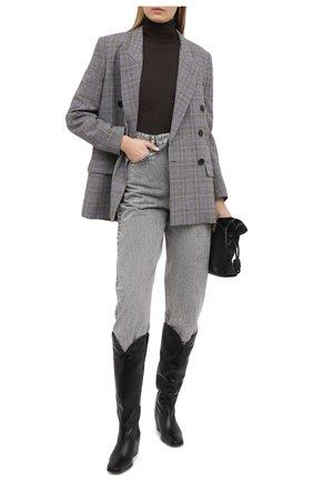 Женские джинсы ISABEL MARANT ETOILE серого цвета, арт. PA1851-21P019E/C0RSYSR | Фото 2