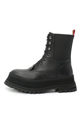 Женские кожаные ботинки springton BURBERRY черного цвета, арт. 8034295   Фото 3
