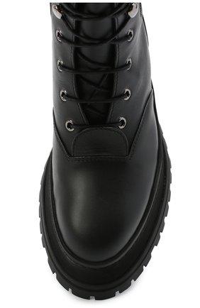 Женские кожаные ботинки springton BURBERRY черного цвета, арт. 8034295   Фото 5