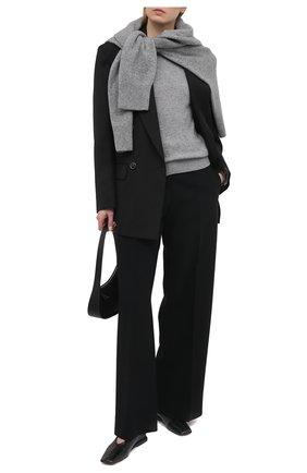 Женский кашемировый пуловер THEORY светло-серого цвета, арт. J0118711 | Фото 2