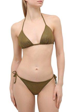 Женский плавки-бикини FISICO хаки цвета, арт. S1/F/MS13MW | Фото 2