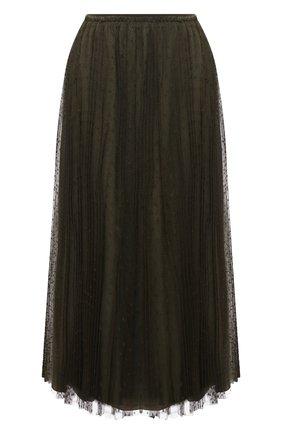 Женская юбка REDVALENTINO хаки цвета, арт. VR3RAC20/428 | Фото 1