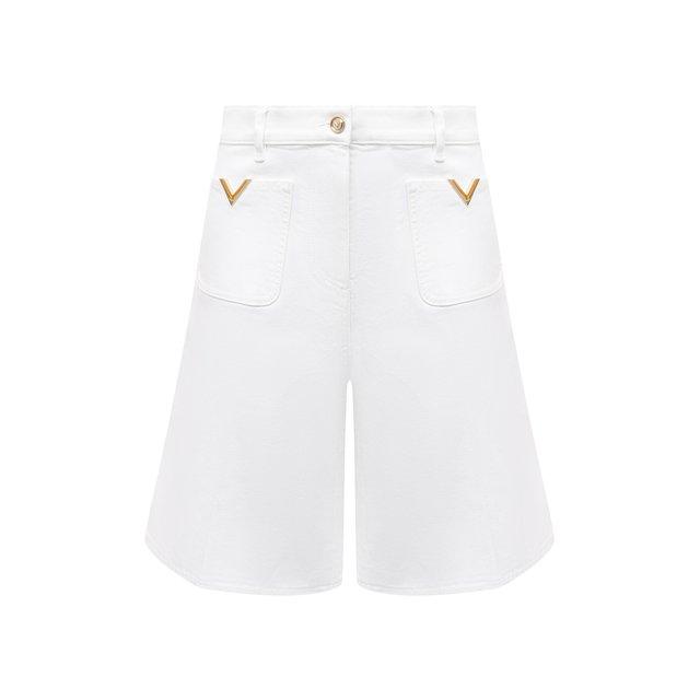 Джинсовые шорты Valentino
