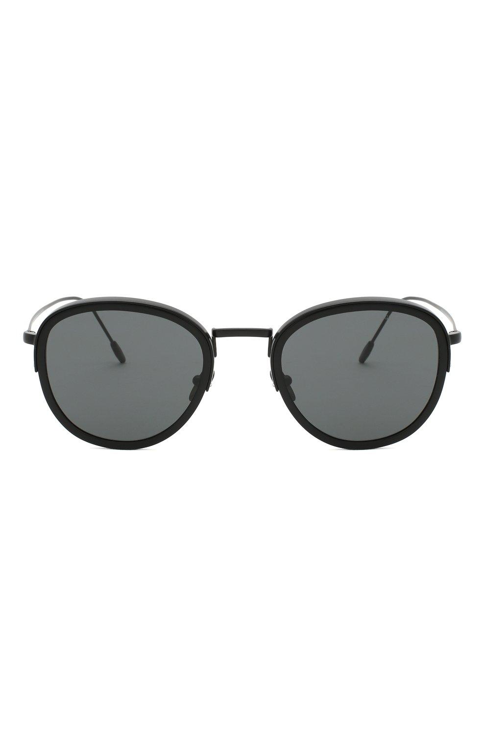 Мужские солнцезащитные очки GIORGIO ARMANI черного цвета, арт. AR6068 | Фото 3