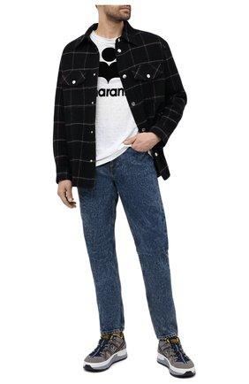 Мужские джинсы ISABEL MARANT синего цвета, арт. PA0867-21P017H/JACK | Фото 2