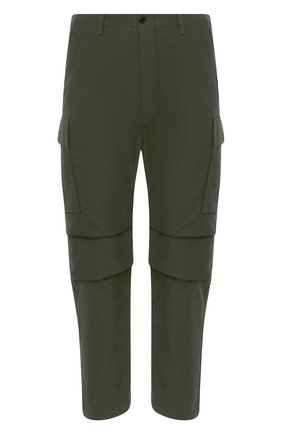 Мужские хлопковые брюки-карго TOM FORD хаки цвета, арт. BW141/TFP223 | Фото 1
