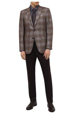 Мужские кожаные дерби H`D`S`N BARACCO темно-коричневого цвета, арт. 71201.C.3* | Фото 2