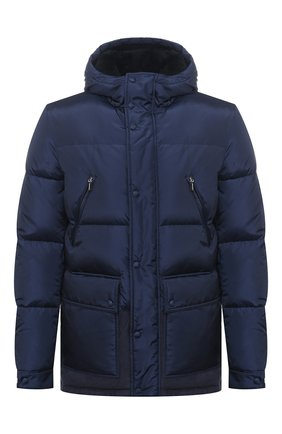 Мужская утепленная куртка ZILLI SPORT темно-синего цвета, арт. MAU-ZS007-00000/0001 | Фото 1