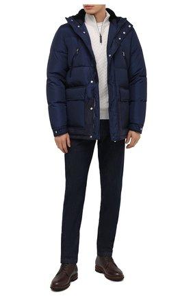 Мужская утепленная куртка ZILLI SPORT темно-синего цвета, арт. MAU-ZS007-00000/0001 | Фото 2