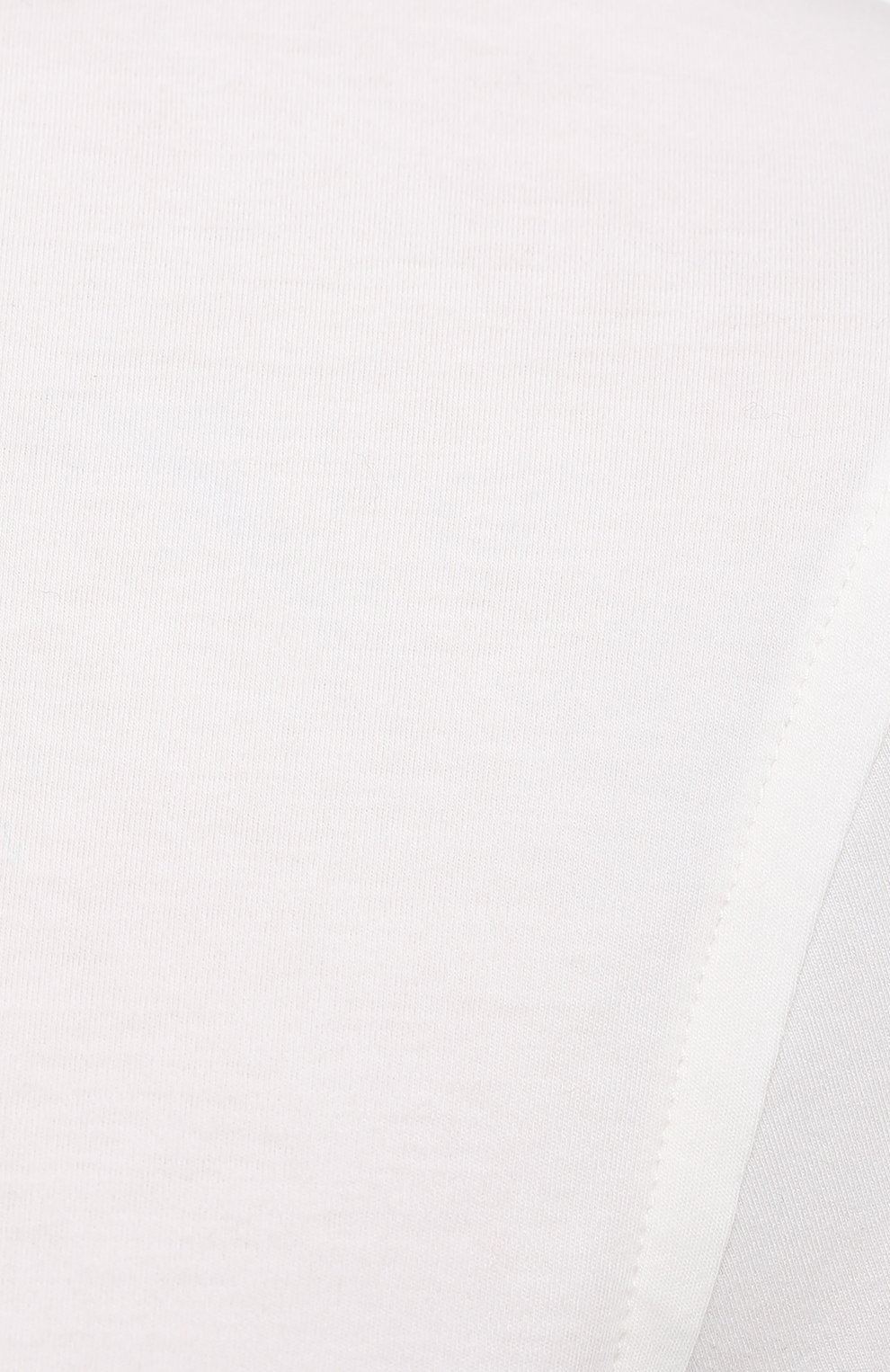 Мужская хлопковая футболка ZILLI SPORT белого цвета, арт. MFU-13075-447782/0014   Фото 5 (Принт: Без принта; Рукава: Короткие; Длина (для топов): Стандартные; Материал внешний: Хлопок; Стили: Кэжуэл)