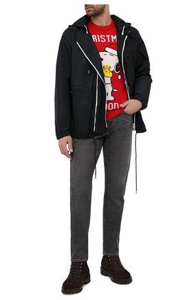 Мужской свитер MC2 SAINT BARTH красного цвета, арт. STBM HER0N/HER0001/XMSN41 | Фото 2