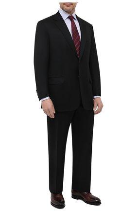 Мужской шерстяной костюм BRIONI черного цвета, арт. RAH018/P4AHT/PARLAMENT0 | Фото 1