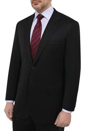 Мужской шерстяной костюм BRIONI черного цвета, арт. RAH018/P4AHT/PARLAMENT0 | Фото 2