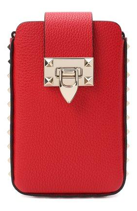 Чехол для iphone VALENTINO красного цвета, арт. VW2P0V28/VSH | Фото 1