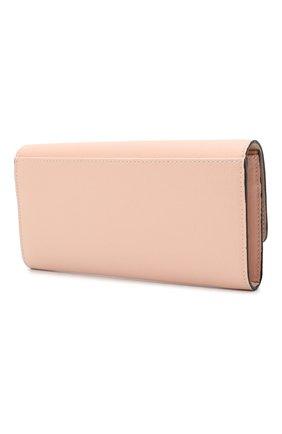 Женские кожаный кошелек FURLA розового цвета, арт. PCY3UNO/B30000   Фото 2
