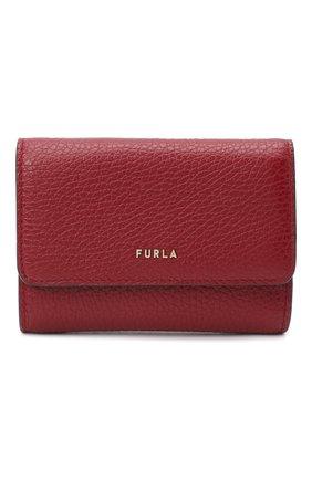 Женские кожаный кошелек FURLA красного цвета, арт. PCZ0UNO/HSF000   Фото 1