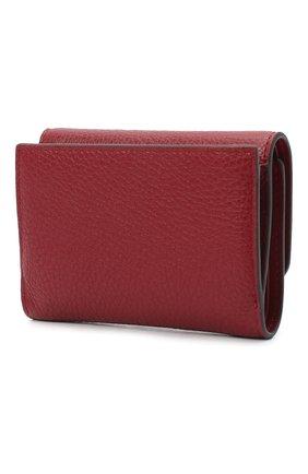 Женские кожаный кошелек FURLA красного цвета, арт. PCZ0UNO/HSF000   Фото 2
