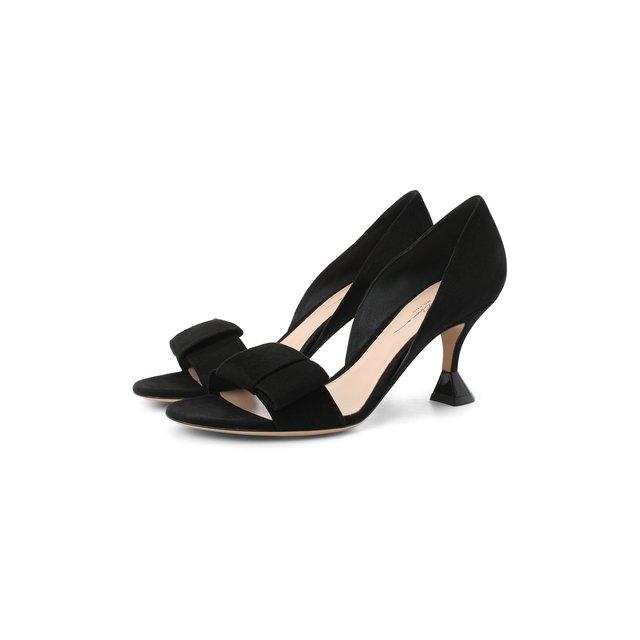 Замшевые туфли Giorgio Armani