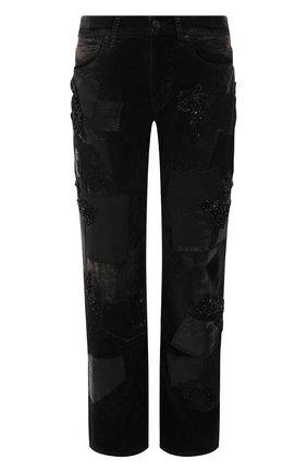 Женские джинсы RALPH LAUREN черного цвета, арт. 290823639   Фото 1