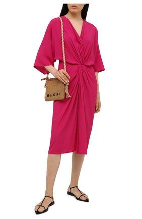 Женское платье FISICO фуксия цвета, арт. S1/F/FV85C0 | Фото 2