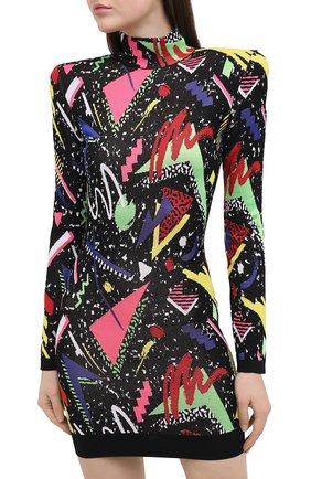 Женское платье BALMAIN разноцветного цвета, арт. VF16232/K216   Фото 3
