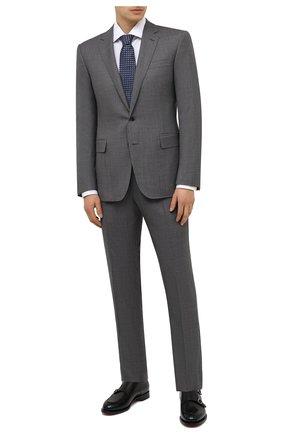 Мужской шерстяной костюм RALPH LAUREN темно-серого цвета, арт. 799839102 | Фото 1