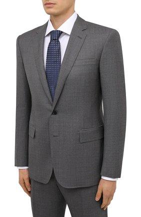 Мужской шерстяной костюм RALPH LAUREN темно-серого цвета, арт. 799839102 | Фото 2