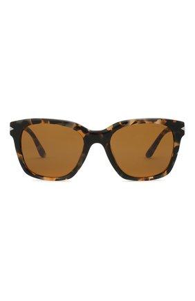 Мужские солнцезащитные очки GIORGIO ARMANI коричневого цвета, арт. AR8134 | Фото 3