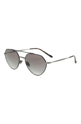 Мужские солнцезащитные очки GIORGIO ARMANI синего цвета, арт. AR6111 | Фото 1