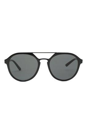 Мужские солнцезащитные очки GIORGIO ARMANI черного цвета, арт. AR8131   Фото 3