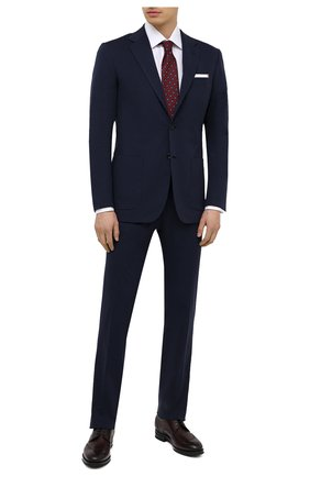 Мужской костюм KITON синего цвета, арт. UA89K06T67 | Фото 1