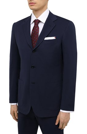 Мужской костюм KITON синего цвета, арт. UA89K06T67 | Фото 2
