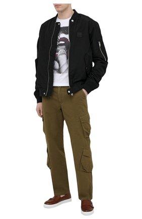 Мужские кожаные слипоны H`D`S`N BARACCO коричневого цвета, арт. TIFF.17* | Фото 2