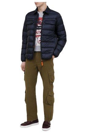 Мужские кожаные слипоны H`D`S`N BARACCO бордового цвета, арт. TIFF.19* | Фото 2